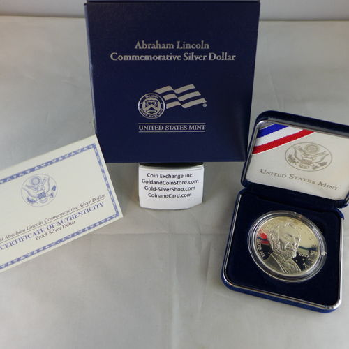 2009 Abraham Lincolin Proof Silver Dollar