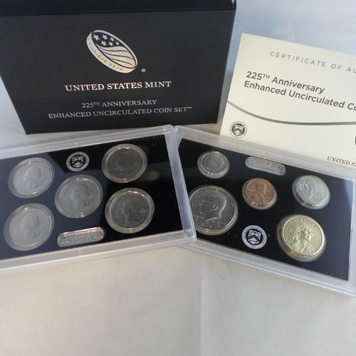 2017- 225th Anniversary Enhanced Uncirculated Coin Set