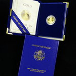 $5 American Gold Eagle Proof 1/10 oz Fine Gold - Random Year (1988-2004)