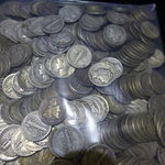 Lot of 500 - 90% Silver Mercury Dimes - Avg Circulated Condition