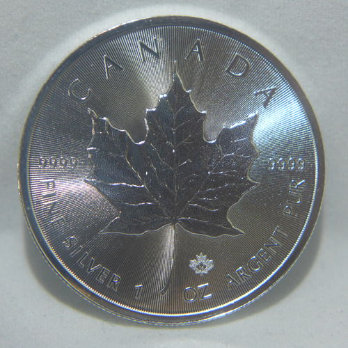 2018 $5 Silver Maple Leaf