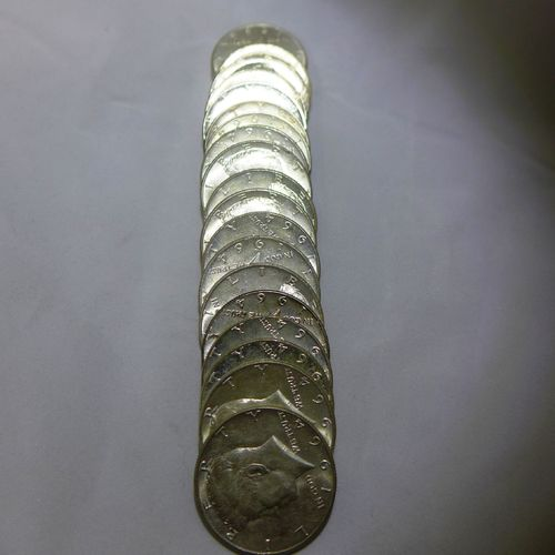 1964 Kennedy Half Dollars (Roll of 20 Coins)
