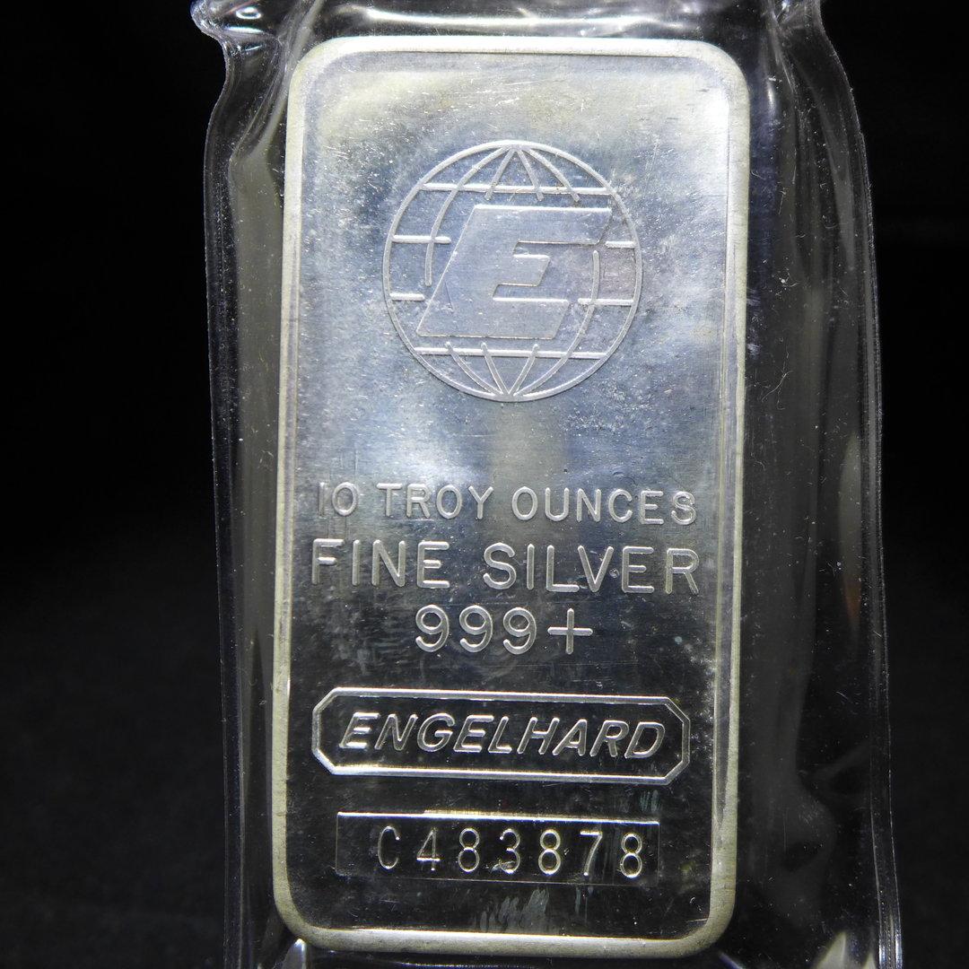 1 Kilo Silver Bar Johnson Matthey