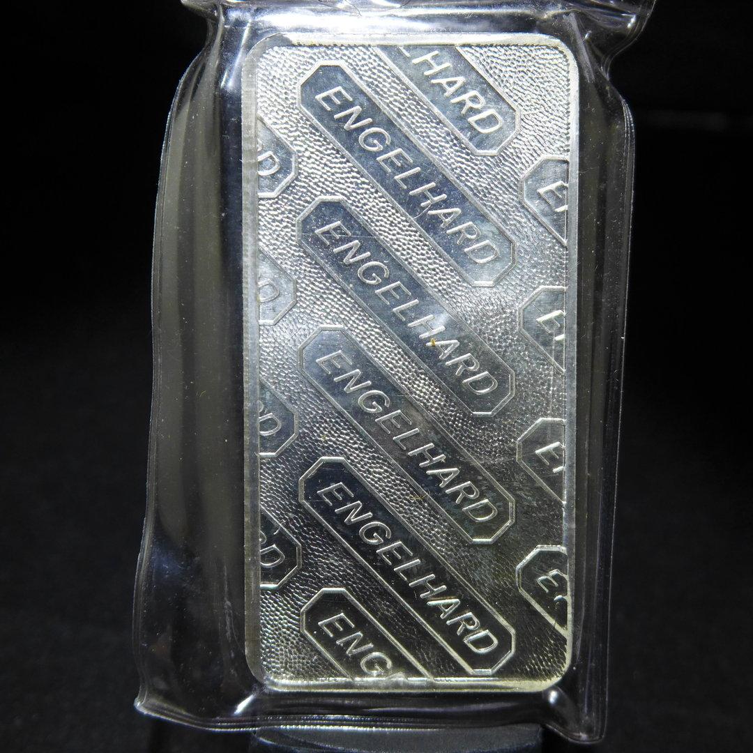 Engelhard 10oz 999 Silver Bar Globe Style Coinandcard Com