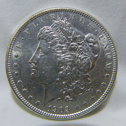 1903 Morgan Silver Dollar AU