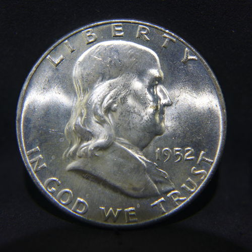 1952 D Franklin Half Dollar BU