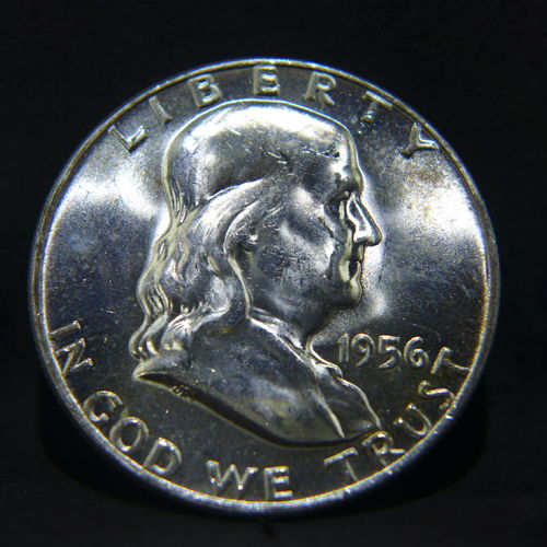 1956 Franklin Half Dollar BU