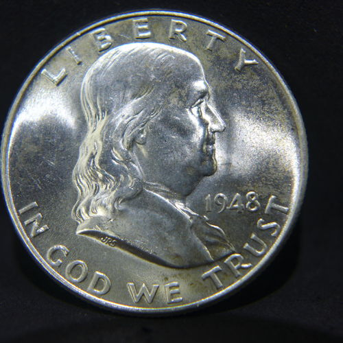 1948 Franklin Half Dollar BU