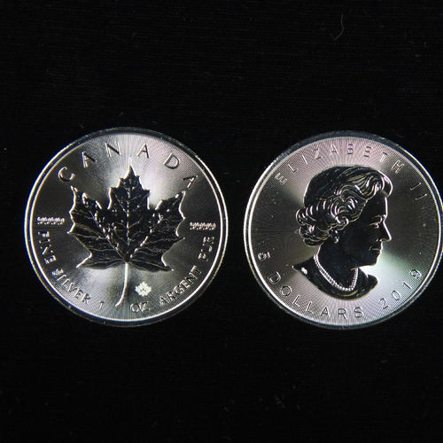2019 $5 Silver Maple Leaf