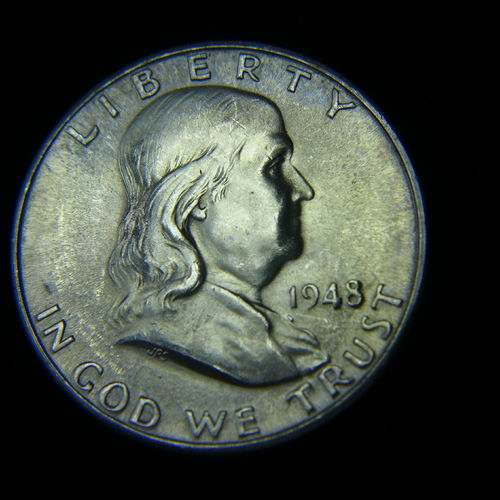 1948 D Franklin Half Dollar BU